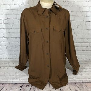 NWT Frye Addie Shirt M
